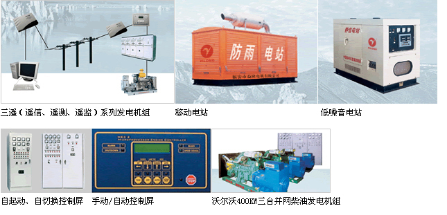 Three-remote Supervision Automatic Control Panel Series