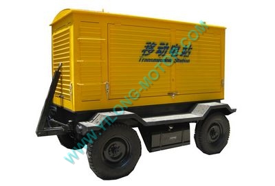 Mobile Trailer generator (4 wheels)