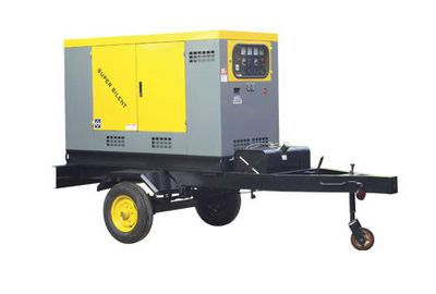 Mobile Trailer generator (2 wheels)