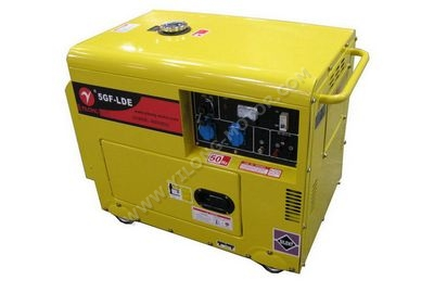 Small Air Cooled Silent Diesel Genset